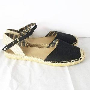 Sperry Espadrille Sandals Size 10